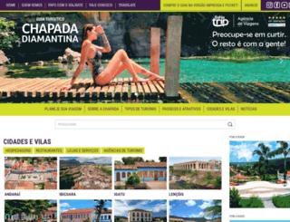 guiachapadadiamantina.com.br screenshot