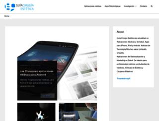 guiacirugiaestetica.com screenshot