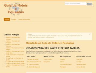 guiadehoteisepousadas.com screenshot