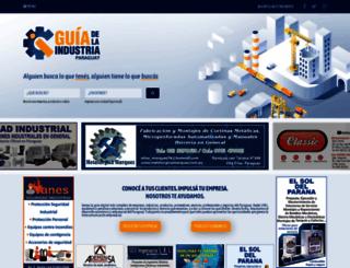 guiadelaindustria.com.py screenshot