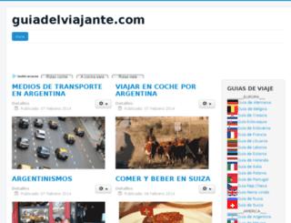 guiadelviajante.com screenshot