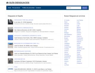 guiadesguaces.com screenshot