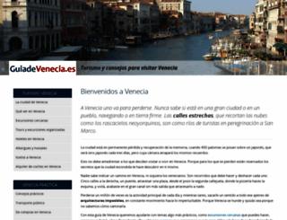 guiadevenecia.es screenshot