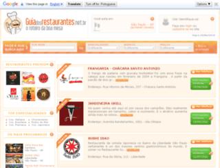guiadosrestaurantes.net.br screenshot