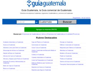 guiaguatemala.com.gt screenshot