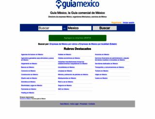 guiamexico.com.mx screenshot