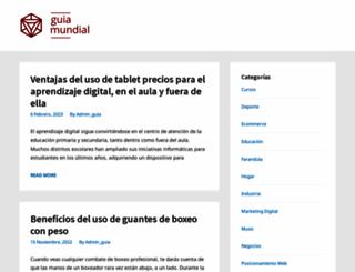 guiamundial.com.ar screenshot