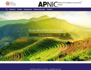 guiamundialdeviajes.com screenshot