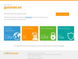guiando.es screenshot