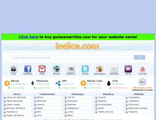 guiasamarillas.com screenshot