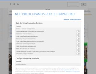 guiaserviciosproductos.com screenshot
