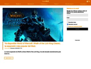 guiaswow.com screenshot