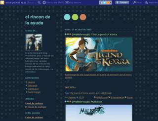 guiasyfaqzackner.blogcindario.com screenshot