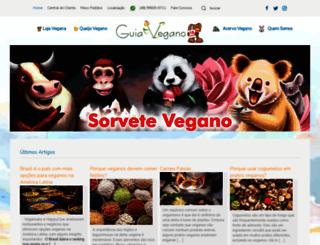 guiavegano.com.br screenshot