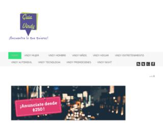 guiavindy.com.mx screenshot