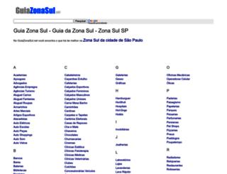 guiazonasul.net screenshot
