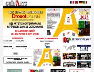 guidarts.com screenshot