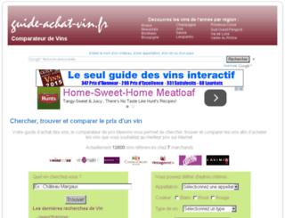 guide-achat-vin.fr screenshot