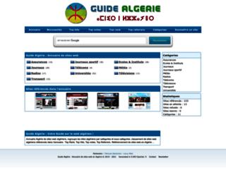 guide-algerie.com screenshot