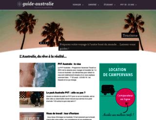 guide-australie.com screenshot