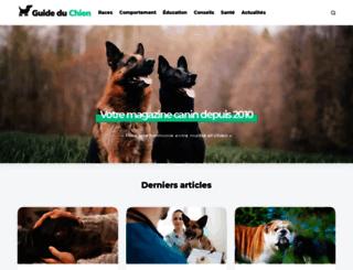 guide-du-chien.com screenshot