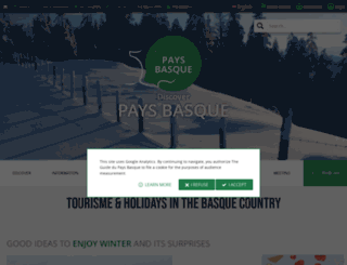 guide-du-paysbasque.com screenshot
