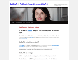 guide-investissement-duflot.fr screenshot
