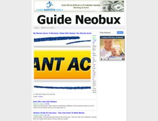 guide-neobux.blogspot.com.br screenshot