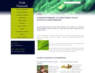 guide-phytosante.org screenshot
