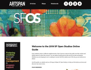 guide.artspan.org screenshot