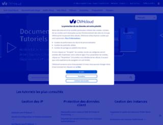 guide.ovh.com screenshot