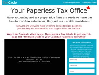 guide.taxcycle.com screenshot
