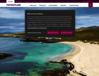 guide.visitscotland.com screenshot