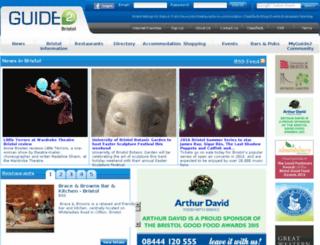 guide2bristol.com screenshot