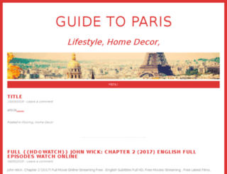 guide2paris.com screenshot