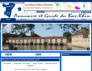 guide67.fr screenshot