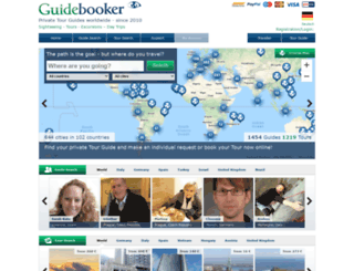 guidebooker.com screenshot