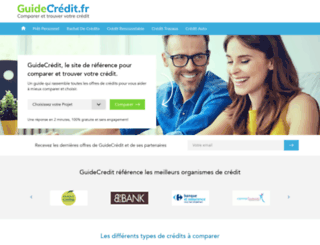 guidecredit.fr screenshot