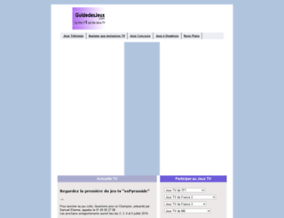 guidedesjeux.com screenshot