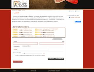 guidedevosreceptions.com screenshot
