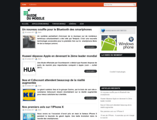 guidedumobile.com screenshot