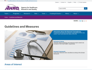 guideline.gov screenshot