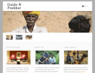 guidepushkar.com screenshot