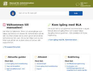 guider.blinfo.se screenshot