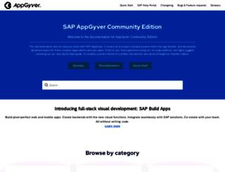 guides.appgyver.com screenshot