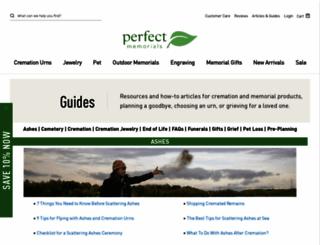 guides.perfectmemorials.com screenshot