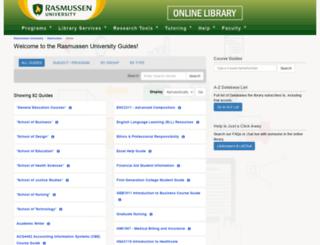 guides.rasmussen.edu screenshot