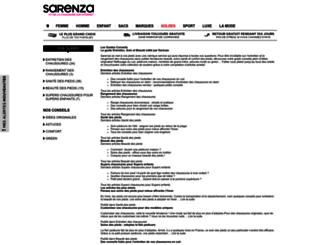 guides.sarenza.com screenshot