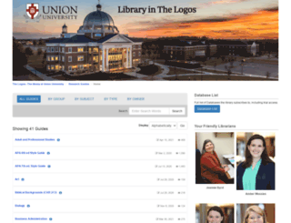guides.uu.edu screenshot