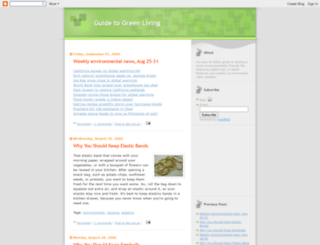 guidetogreenliving.blogspot.com screenshot